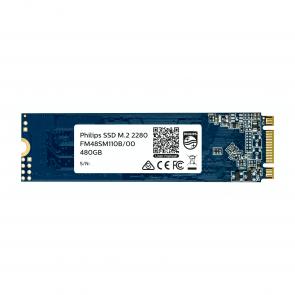 Philips Internal SSD M.2 2280 480GB Ultra Speed, black