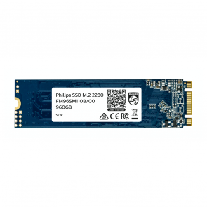 Philips Internal SSD M.2 2280 960GB Ultra Speed, black