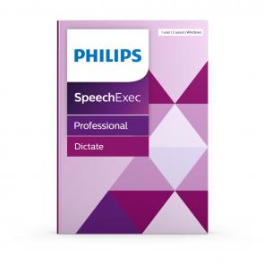 Philips SpeechExec Dicteer- en spraakherkenningssoftware PSE4401
